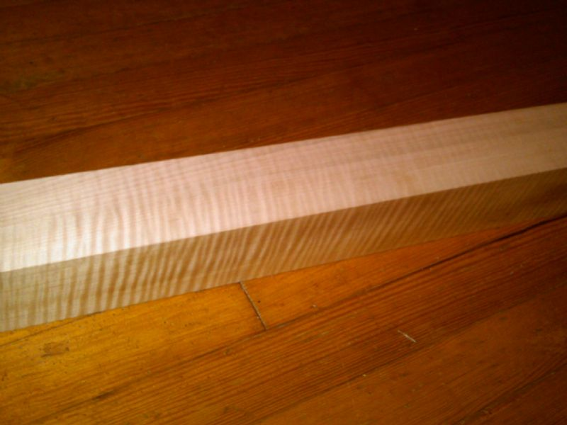 Neck Blank - Presentation Grade Curly Maple