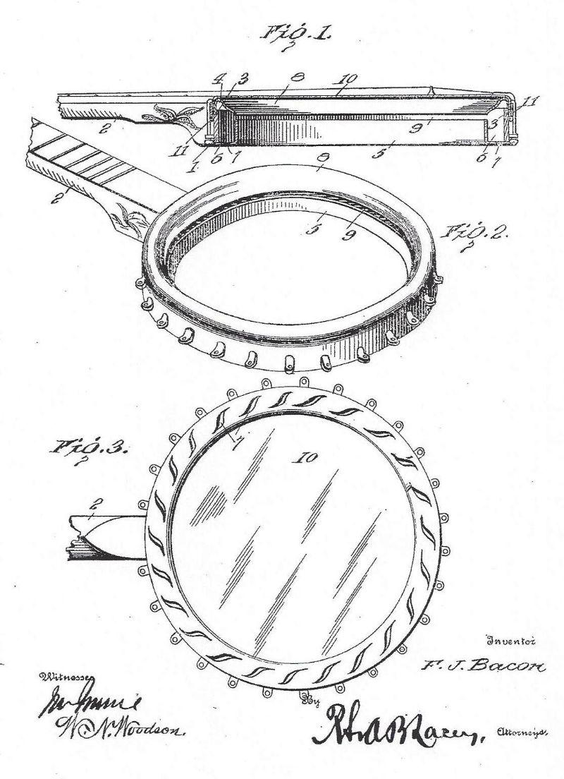 gibson tenor banjos discussion forums banjo hangout Banjo Headstock Identification bacon banjo rim patent