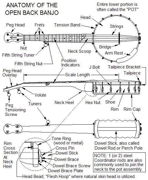banjo glossary discussion forums banjo hangout rh banjohangout org Antique Banjo Parts Antique Banjo Parts