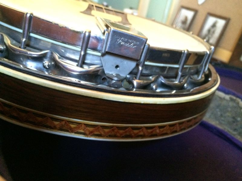 dewick banjo patent