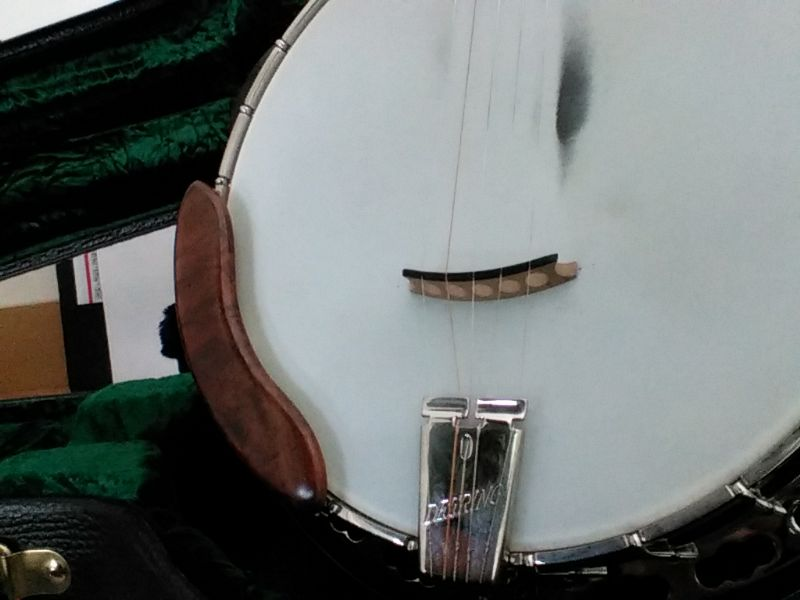 Buy new or replate armrest? - Discussion Forums - Banjo Hangout