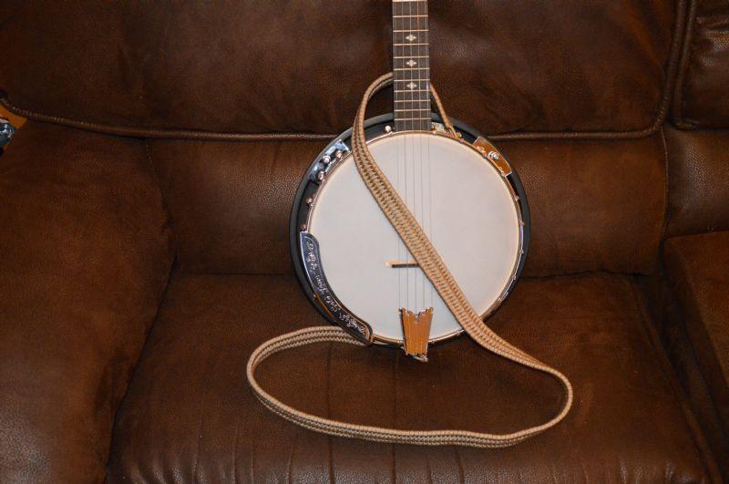 how to make a banjo strap