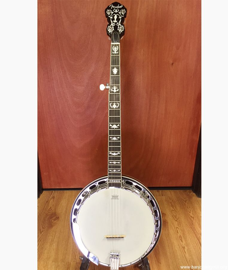 fender fb 58 banjo used banjo for sale at. Black Bedroom Furniture Sets. Home Design Ideas