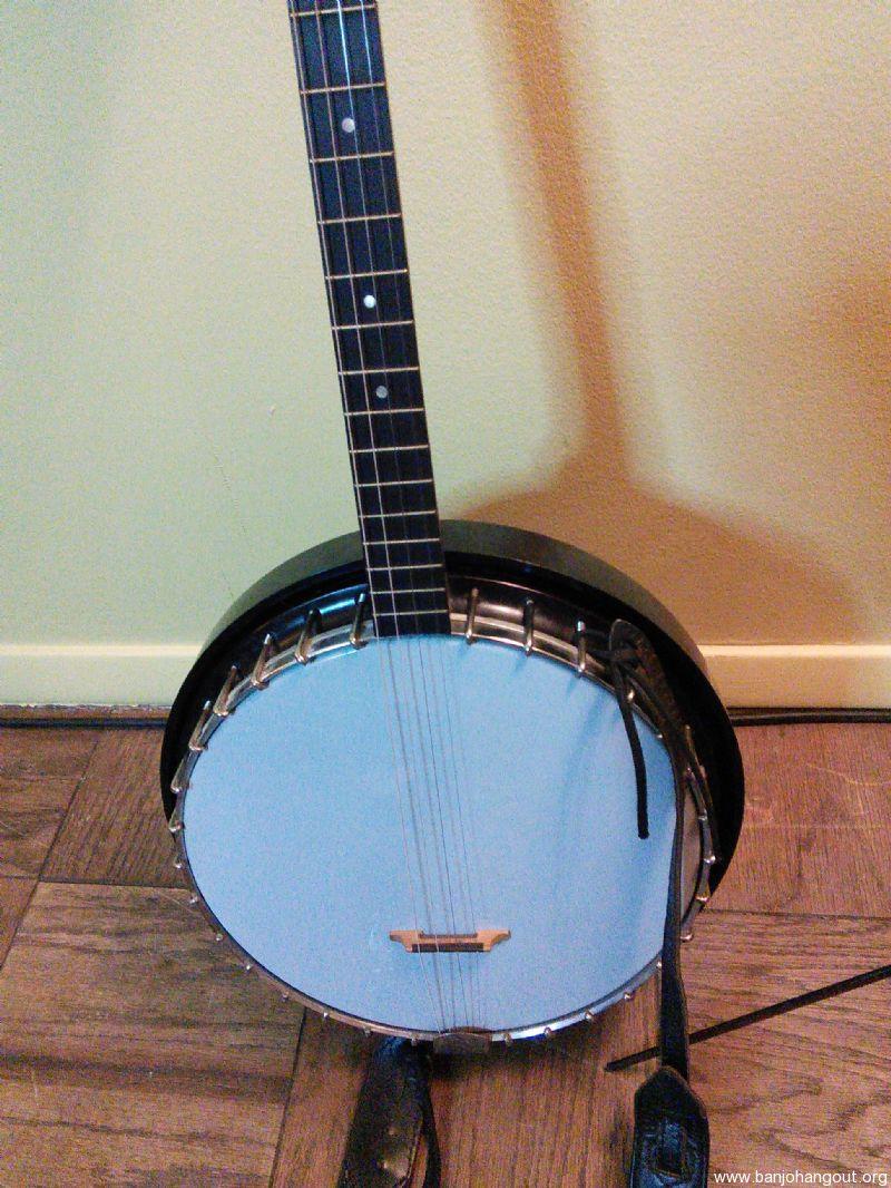 vintage harmony tenor banjo used banjo for sale at. Black Bedroom Furniture Sets. Home Design Ideas