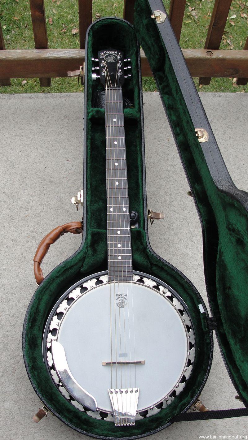 deering boston six string banjo don 39 t buy new 950 ohsc used banjo for sale at. Black Bedroom Furniture Sets. Home Design Ideas