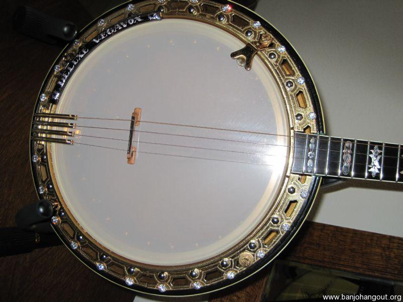 vintage ultra deluxe vegavox plectrum banjo used banjo for sale at. Black Bedroom Furniture Sets. Home Design Ideas