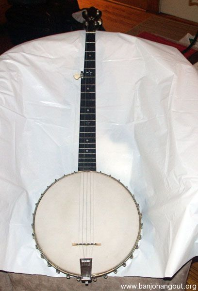 Restored dobson banjo looking for a new home with case and for 66125 3
