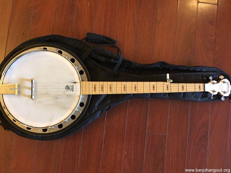 used deering goodtime 2 used banjo for sale at. Black Bedroom Furniture Sets. Home Design Ideas