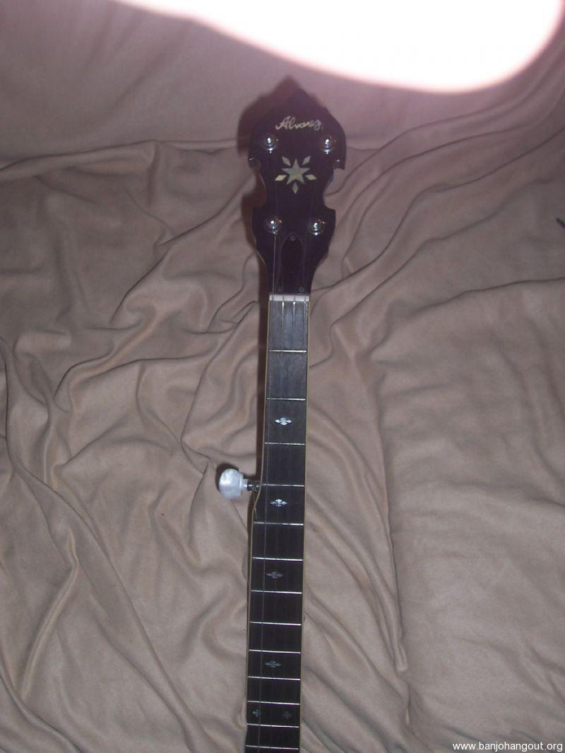 vintage alvarez 5 string banjo reduced used banjo for sale at. Black Bedroom Furniture Sets. Home Design Ideas