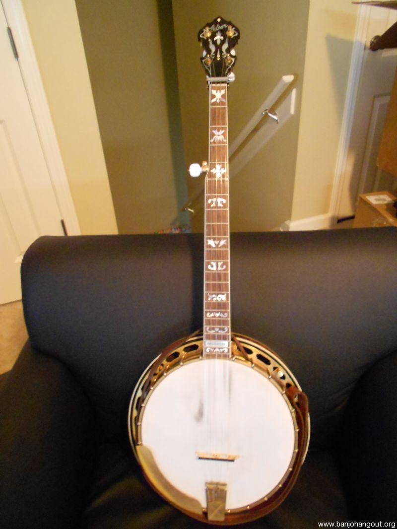 2005 gibson vintage granada used banjo for sale from banjo vault. Black Bedroom Furniture Sets. Home Design Ideas