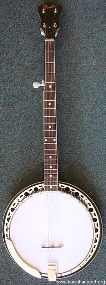 fender allegro banjo usa made used banjo for sale at. Black Bedroom Furniture Sets. Home Design Ideas
