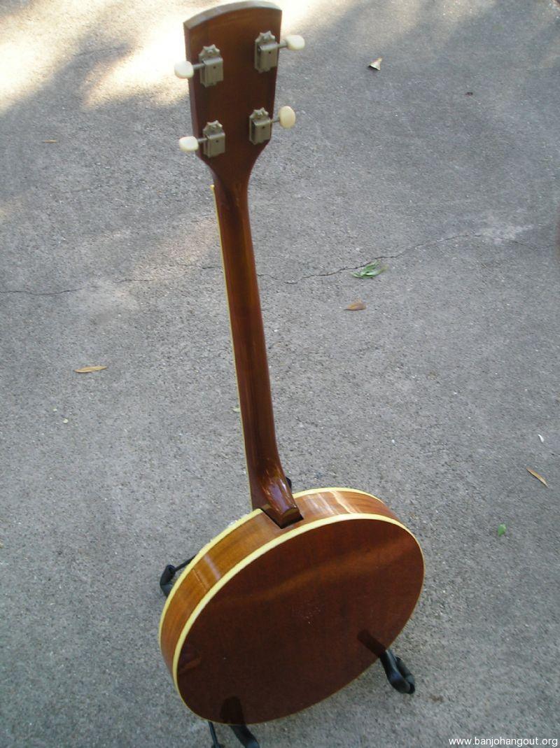 Vintage KAY 4 String Banjo W/ case