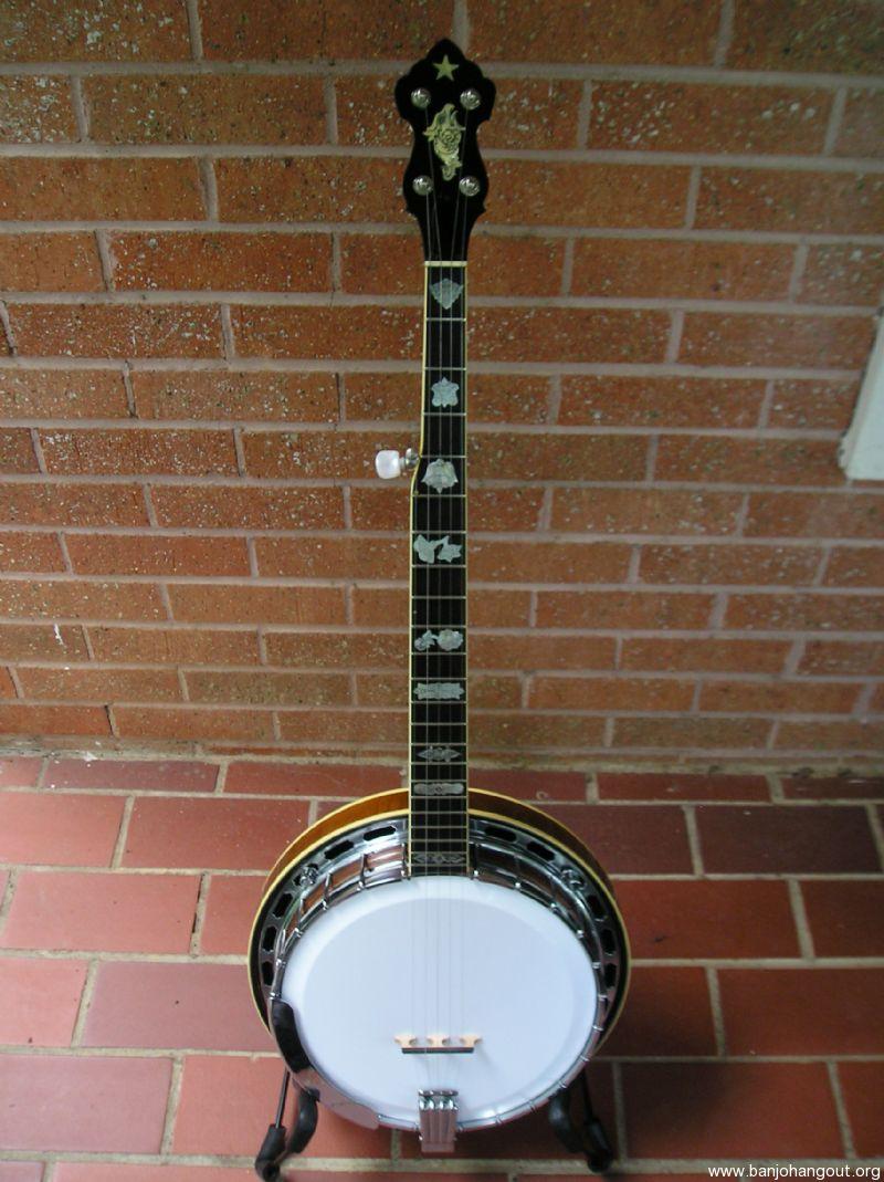 Banjo eagle resonator vintage