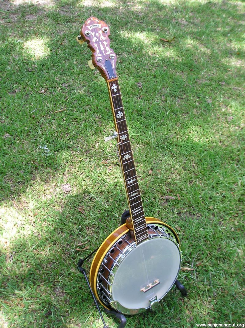Fender Artist With Concertone Style Neck Used Banjo For