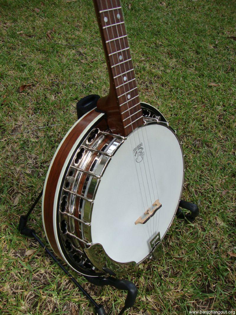 1991 deering standard sierra used banjo for sale at. Black Bedroom Furniture Sets. Home Design Ideas