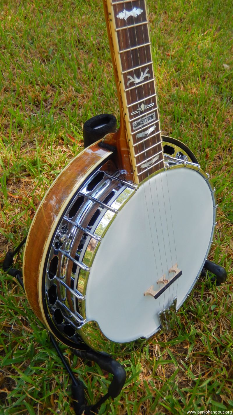 fender fb 59 concert tone sold on ebay used banjo for sale at. Black Bedroom Furniture Sets. Home Design Ideas