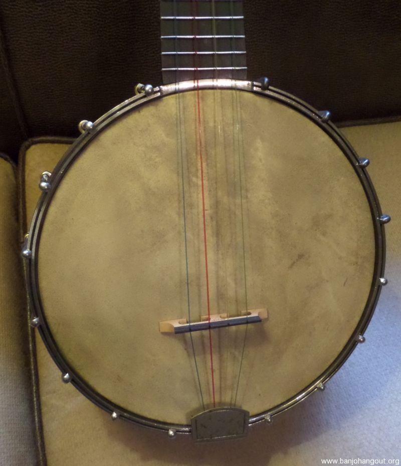 sale pending vintage avalon banjo ukulele 8 inch pot used banjo for sale at. Black Bedroom Furniture Sets. Home Design Ideas