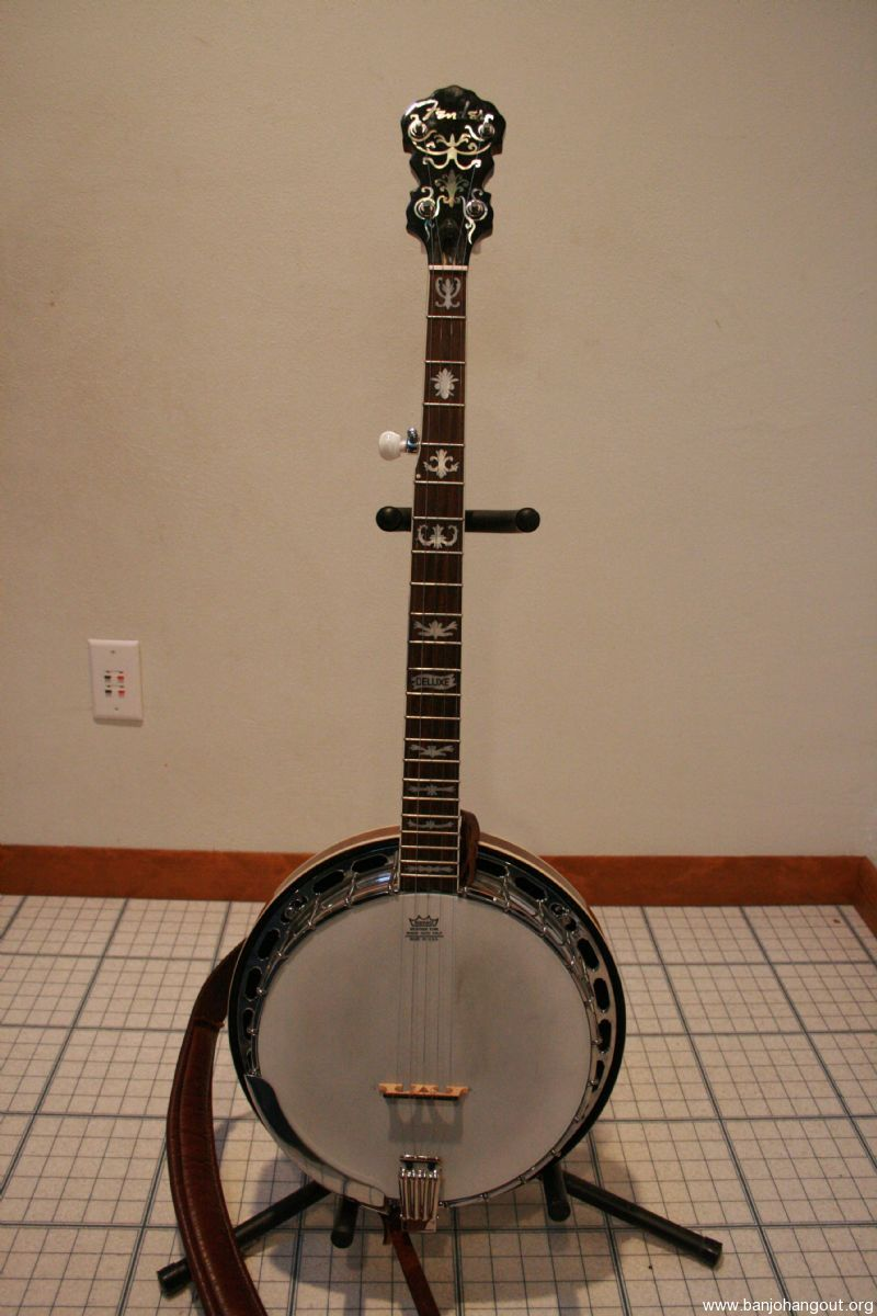 fender deluxe used banjo for sale at. Black Bedroom Furniture Sets. Home Design Ideas