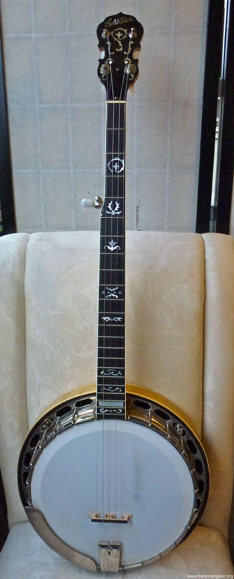 goldstar vintage g 12w 1985 5st banjo used banjo for sale at. Black Bedroom Furniture Sets. Home Design Ideas