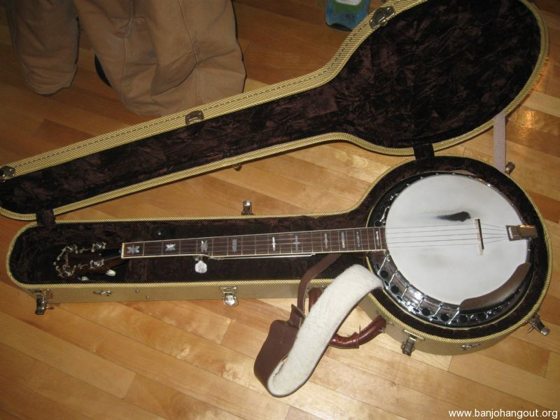 reduced price fender artist banjo used banjo for sale at. Black Bedroom Furniture Sets. Home Design Ideas