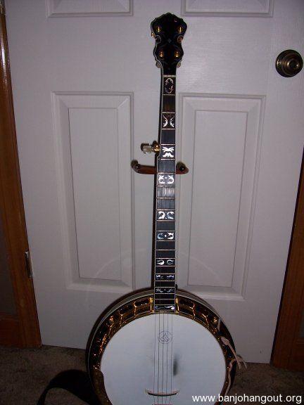 vintage ode model d banjo used banjo for sale at. Black Bedroom Furniture Sets. Home Design Ideas