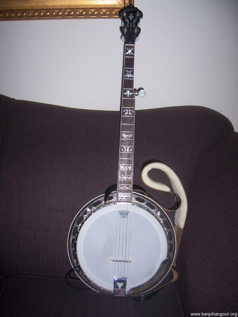 left handed gibson mastertone used banjo for sale at. Black Bedroom Furniture Sets. Home Design Ideas