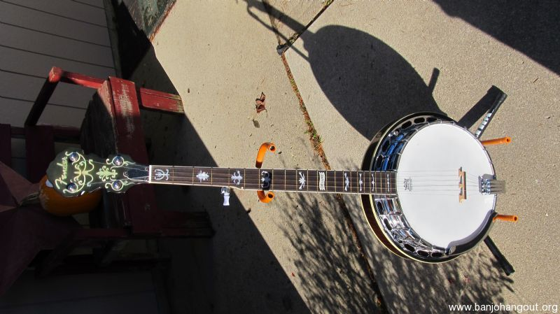 fender fb58 deluxe banjo used banjo for sale at. Black Bedroom Furniture Sets. Home Design Ideas
