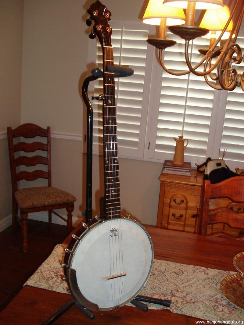 vintage concertone 5 string conversion banjo used banjo for sale at. Black Bedroom Furniture Sets. Home Design Ideas