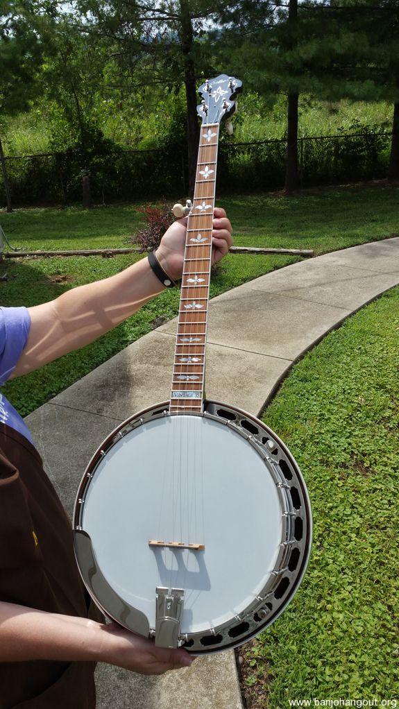 brand new sullivan vintage 35 maple banjo with case full lifetime warranty used banjo for. Black Bedroom Furniture Sets. Home Design Ideas