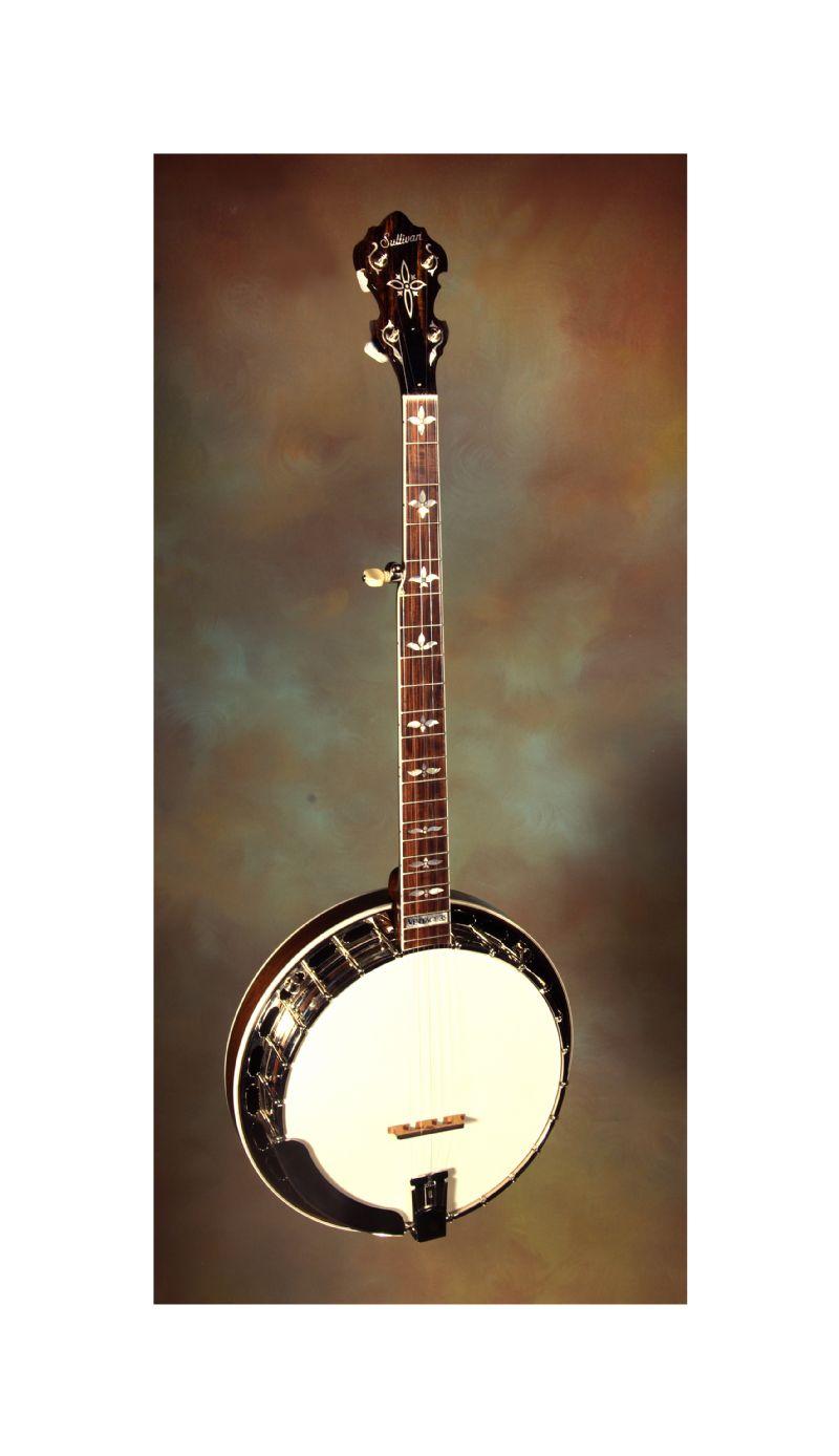 brand new sullivan vintage 35 banjos walnut and maple used banjo for sale from banjo vault. Black Bedroom Furniture Sets. Home Design Ideas
