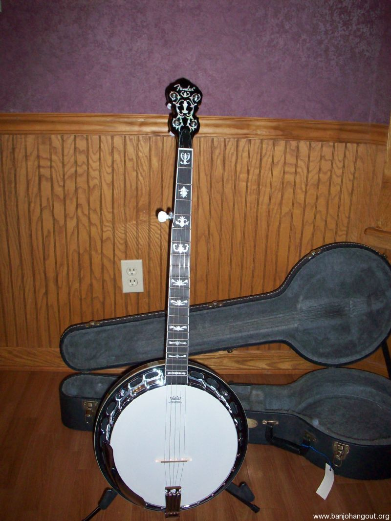 fender fb58 used banjo for sale at. Black Bedroom Furniture Sets. Home Design Ideas