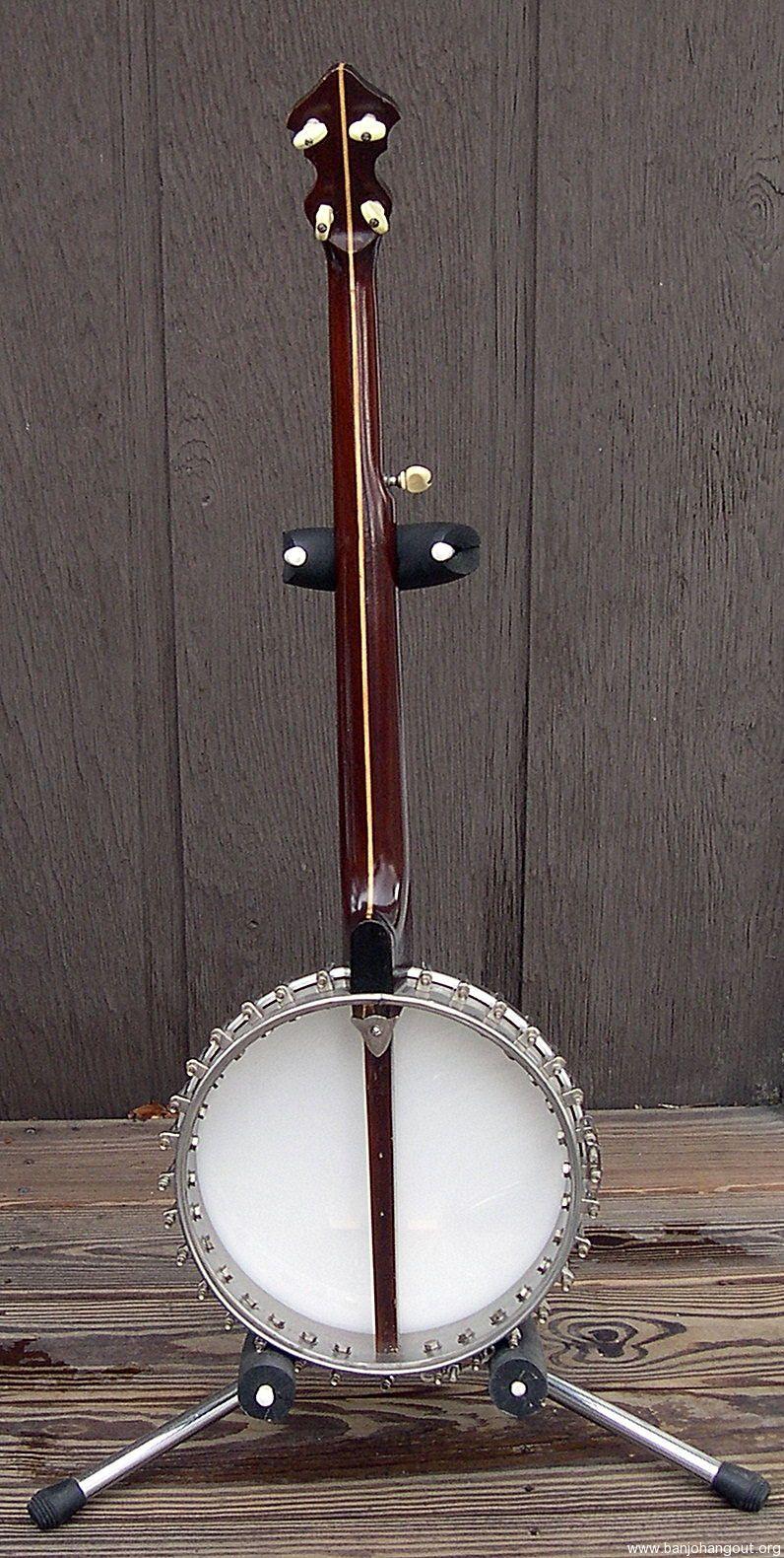wurlitzer gretsch vintage original 5 string banjo used banjo for sale at. Black Bedroom Furniture Sets. Home Design Ideas