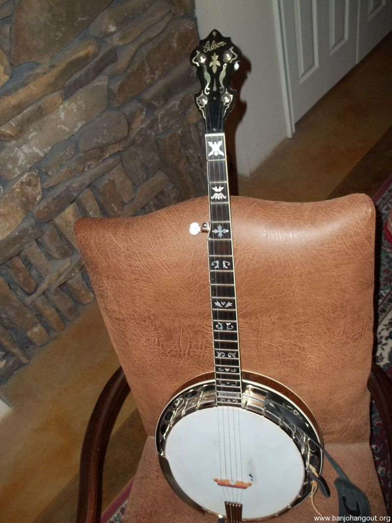 Parts Gibson Banjo 1650 Used Banjo For Sale At