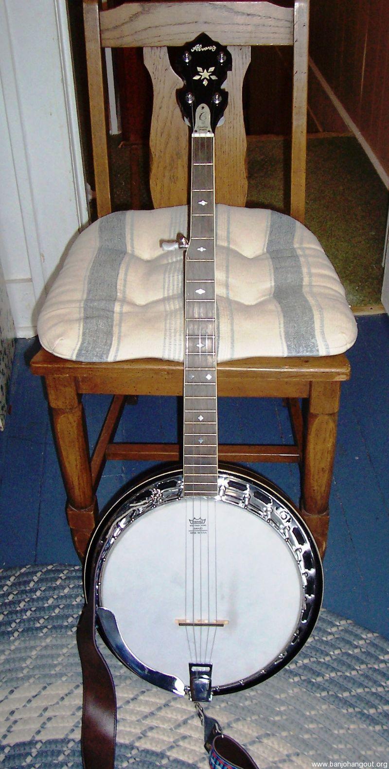 vintage alvarez used banjo for sale at. Black Bedroom Furniture Sets. Home Design Ideas