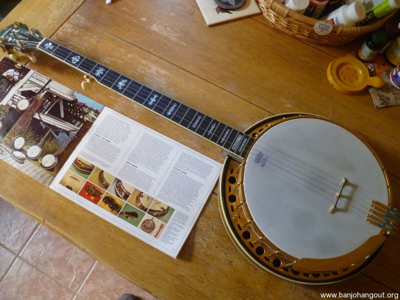 fender concert tone used banjo for sale from banjo vault. Black Bedroom Furniture Sets. Home Design Ideas
