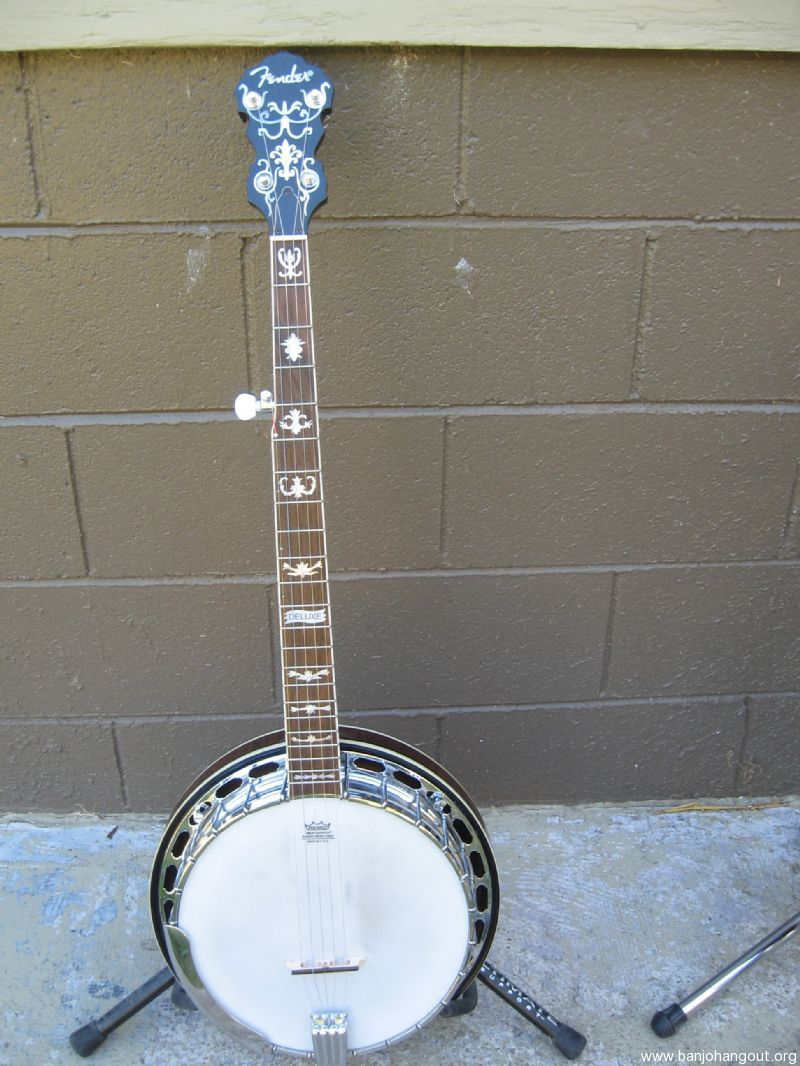 fender fb 58 used banjo for sale at. Black Bedroom Furniture Sets. Home Design Ideas