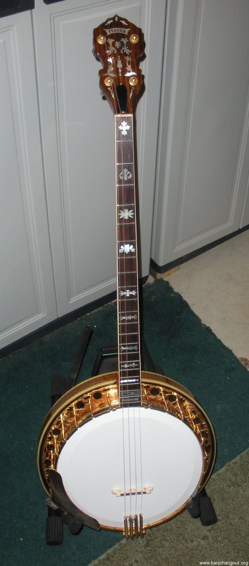 fender concert tone plectrum banjo vintage 70 39 s used banjo for sale at. Black Bedroom Furniture Sets. Home Design Ideas