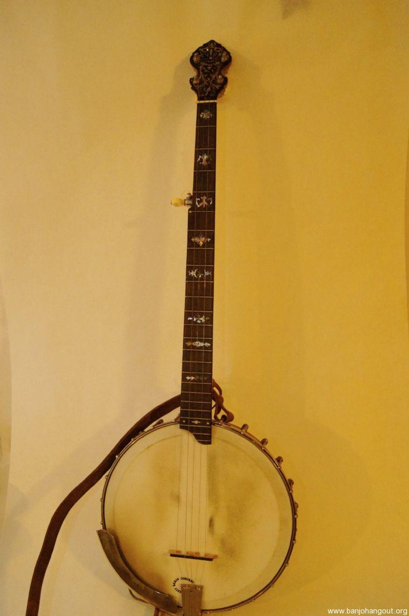 vintage orpheun 2 5 string openback banjo used banjo for sale at. Black Bedroom Furniture Sets. Home Design Ideas