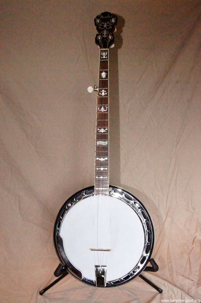 fender fb58 deluxe used banjo for sale at. Black Bedroom Furniture Sets. Home Design Ideas