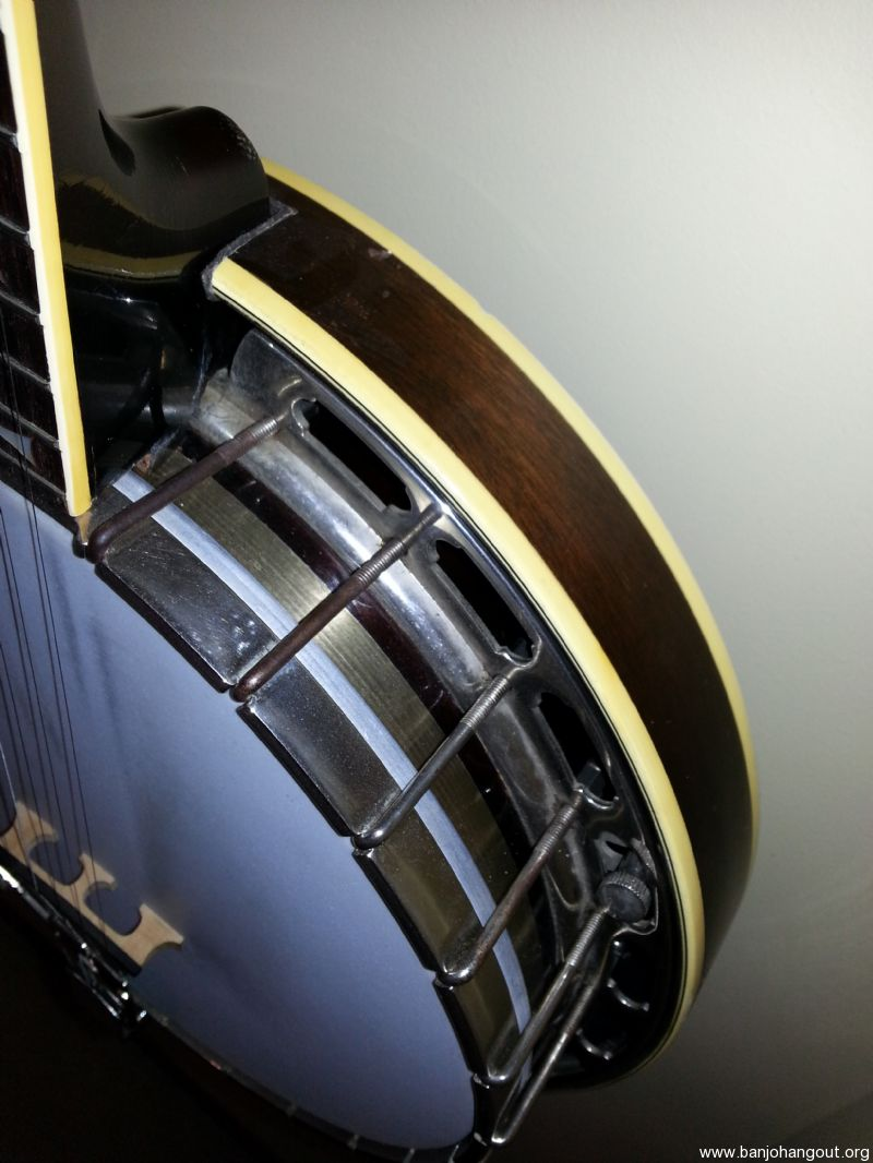 1949 gibson bowtie rb 150 used banjo for sale from banjo for Rb storage