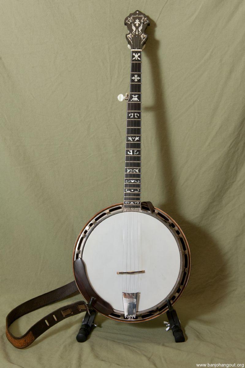 nechville vintage banjo used banjo for sale at. Black Bedroom Furniture Sets. Home Design Ideas