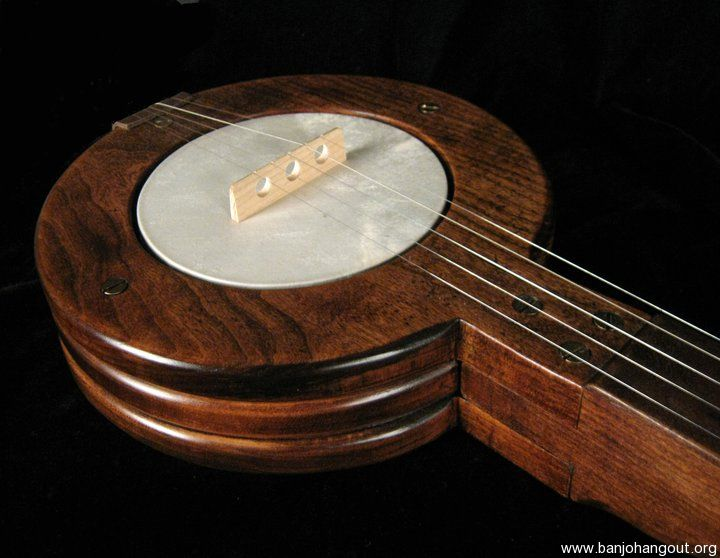 how to make a 3 string banjo