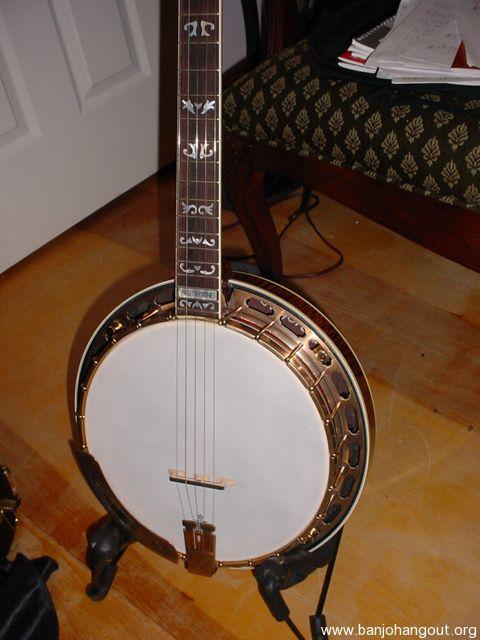 2008 gibson vintage granada 1 of 25 used banjo for sale at. Black Bedroom Furniture Sets. Home Design Ideas