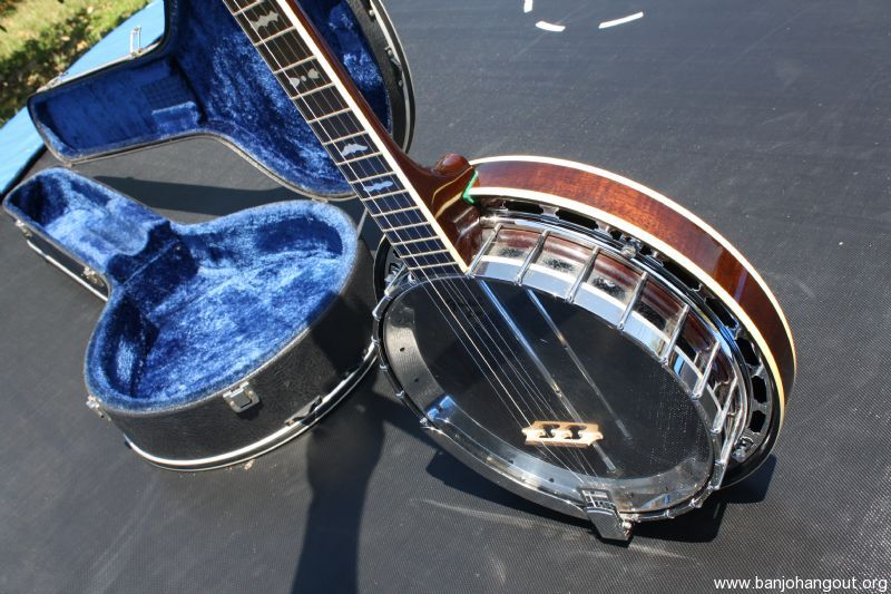 fender leo banjo with ohsc used banjo for sale at. Black Bedroom Furniture Sets. Home Design Ideas