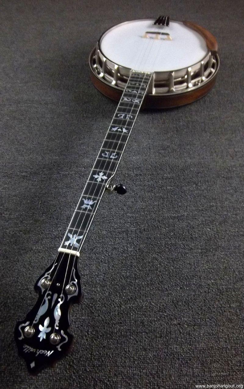 necvhille vintage 5 string banjo used banjo for sale at. Black Bedroom Furniture Sets. Home Design Ideas