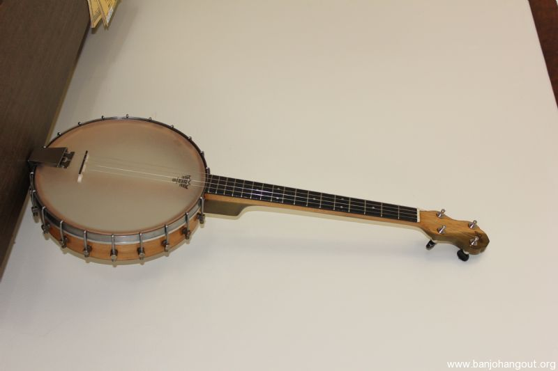 vintage stella tenor banjo used banjo for sale at. Black Bedroom Furniture Sets. Home Design Ideas