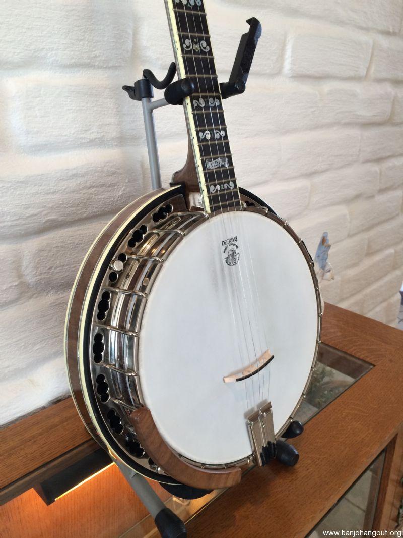 deering gdl greg deering limited for sale used banjo for sale at. Black Bedroom Furniture Sets. Home Design Ideas