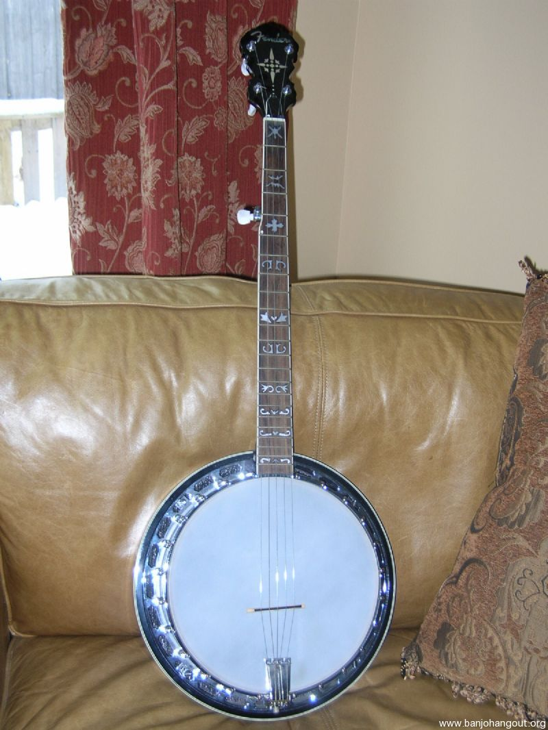 sold used fender fb 55 for sale on hold banjo hangout. Black Bedroom Furniture Sets. Home Design Ideas