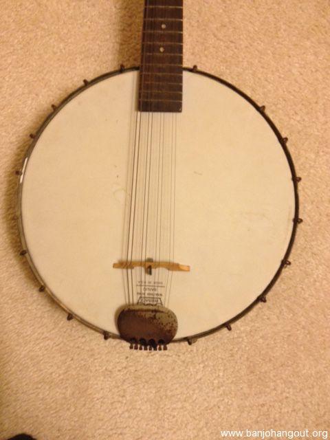 parts Vintage mandolin