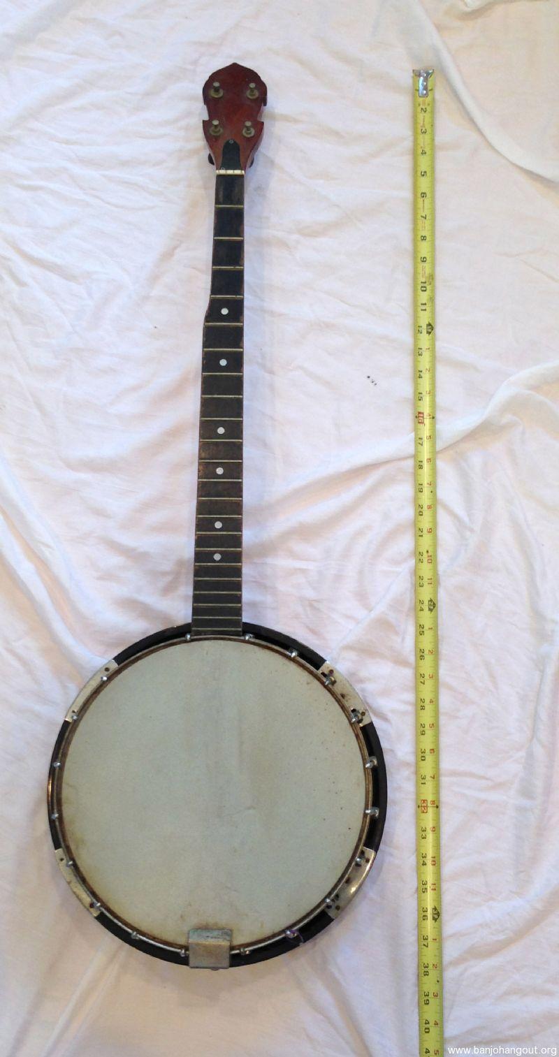 unknown vintage 4 5 string banjo used banjo for sale at. Black Bedroom Furniture Sets. Home Design Ideas